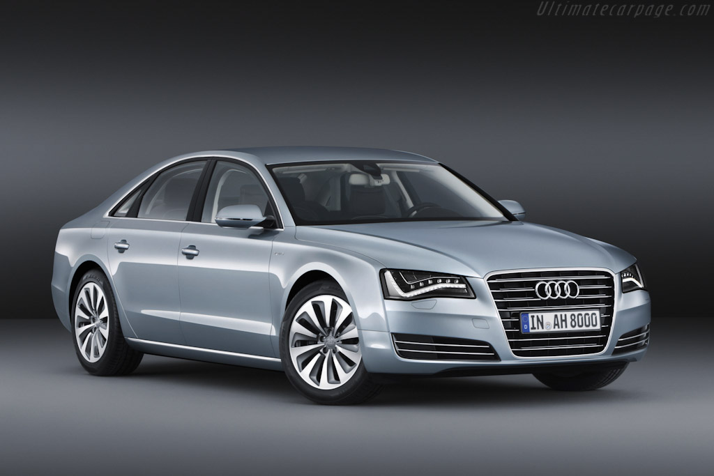 Click here to open the Audi A8 Hybrid gallery