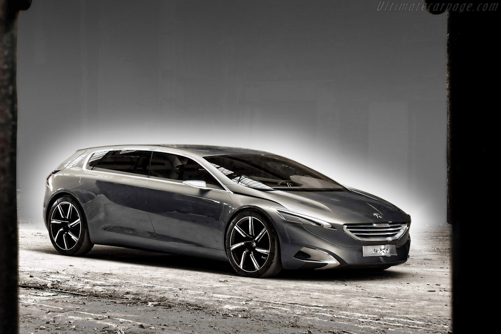 Click here to open the Peugeot HX1 Concept gallery