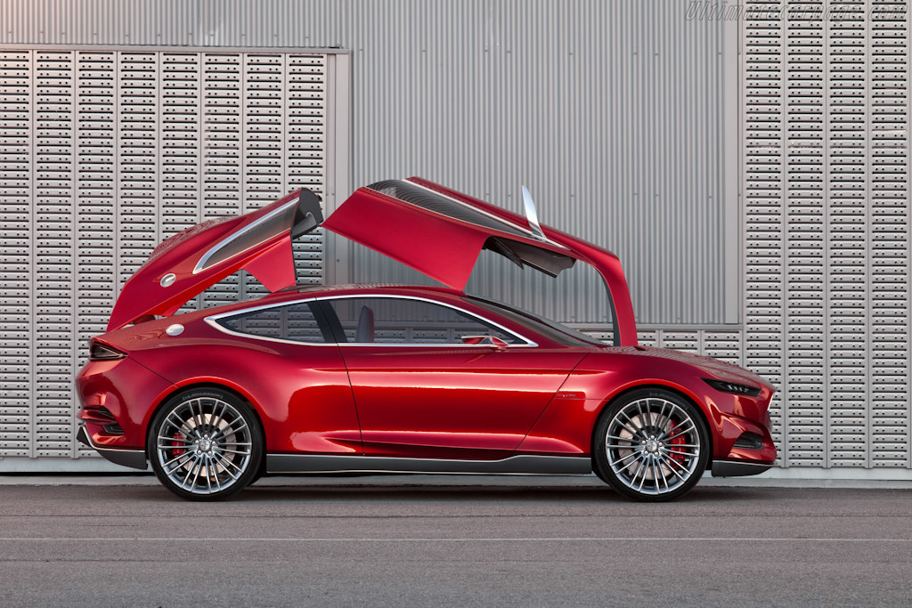 Ford Car Image >> Ford Evos Concept