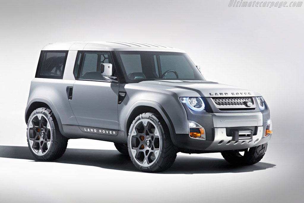 Click here to open the Land Rover DC100 Concept gallery