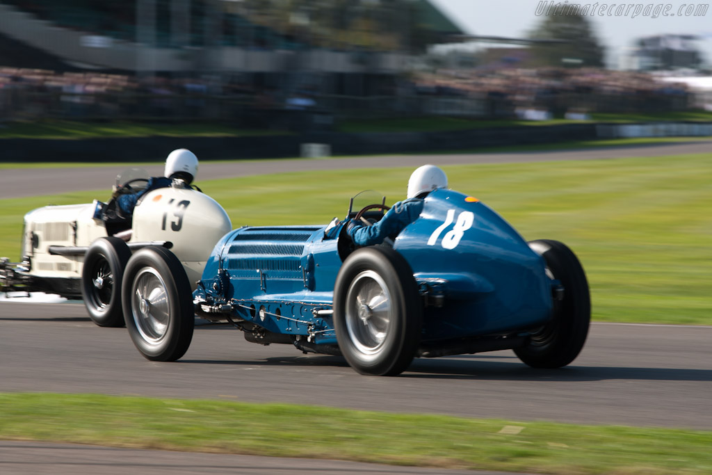 Bugatti Type 59/50B III - Chassis: 441352   - 2011 Goodwood Revival