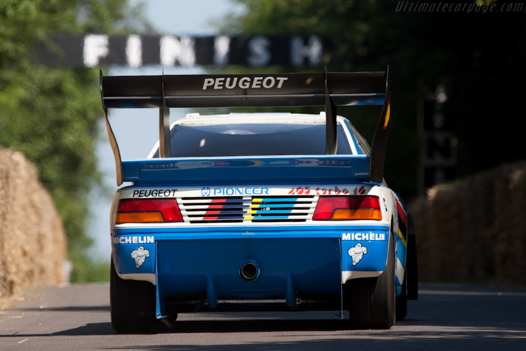 Peugeot 405 T16 Pikes Peak - Chassis: 405003   - 2011 Goodwood Festival of Speed