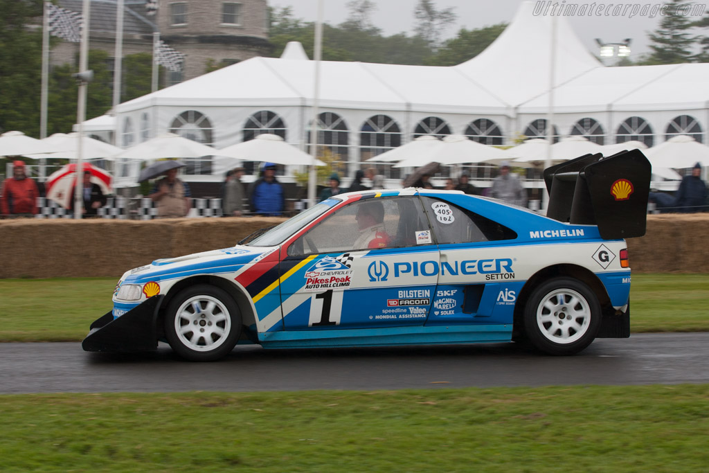 Peugeot 405 T16 Pikes Peak - Chassis: 405003   - 2012 Goodwood Festival of Speed