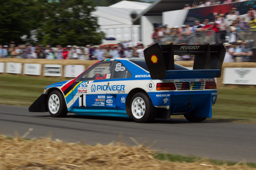 Peugeot 405 T16 Pikes Peak - Chassis: 405003   - 2013 Goodwood Festival of Speed