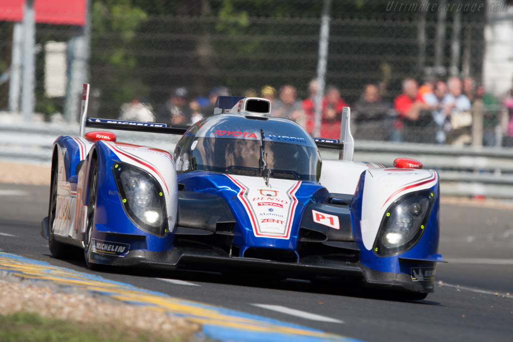 Toyota TS030 Hybrid - Chassis: 12-02 - 2012 24 Hours of Le ...