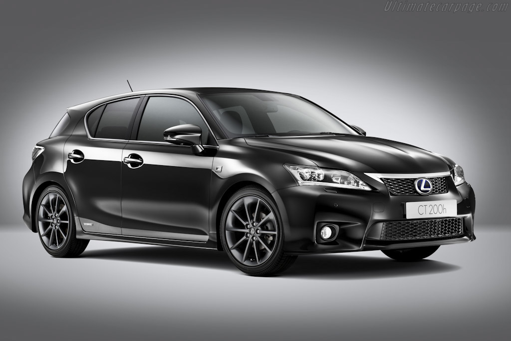Click here to open the Lexus CT 200h F-Sport gallery