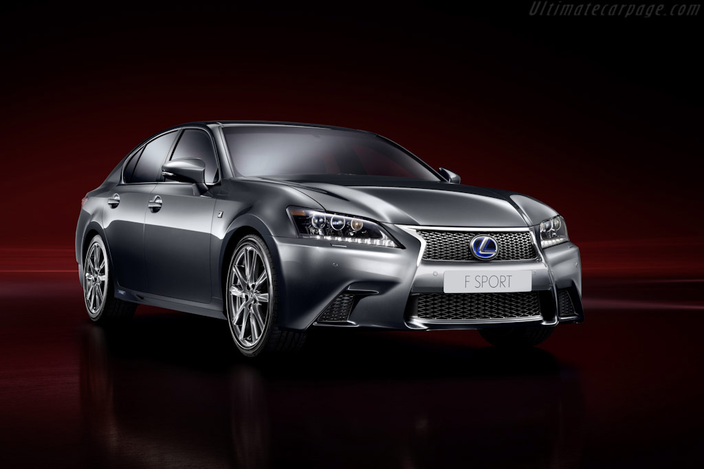 Click here to open the Lexus GS 450h F-Sport gallery