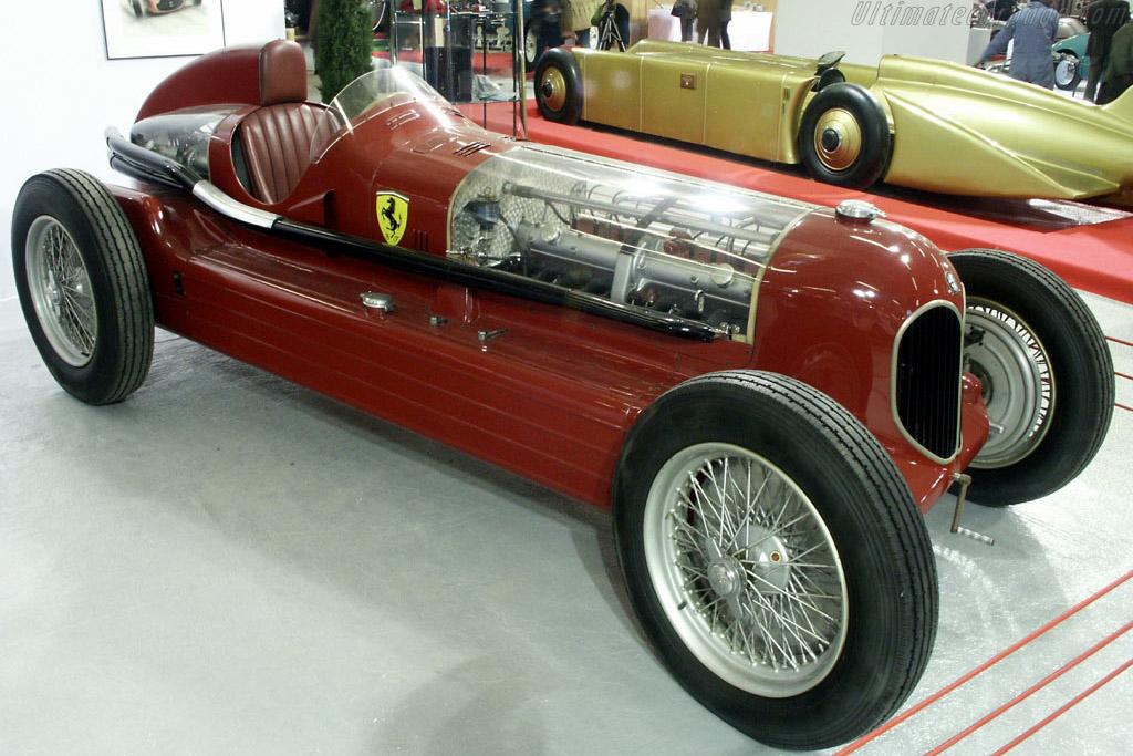 Click here to open the Alfa Romeo Bimotore gallery