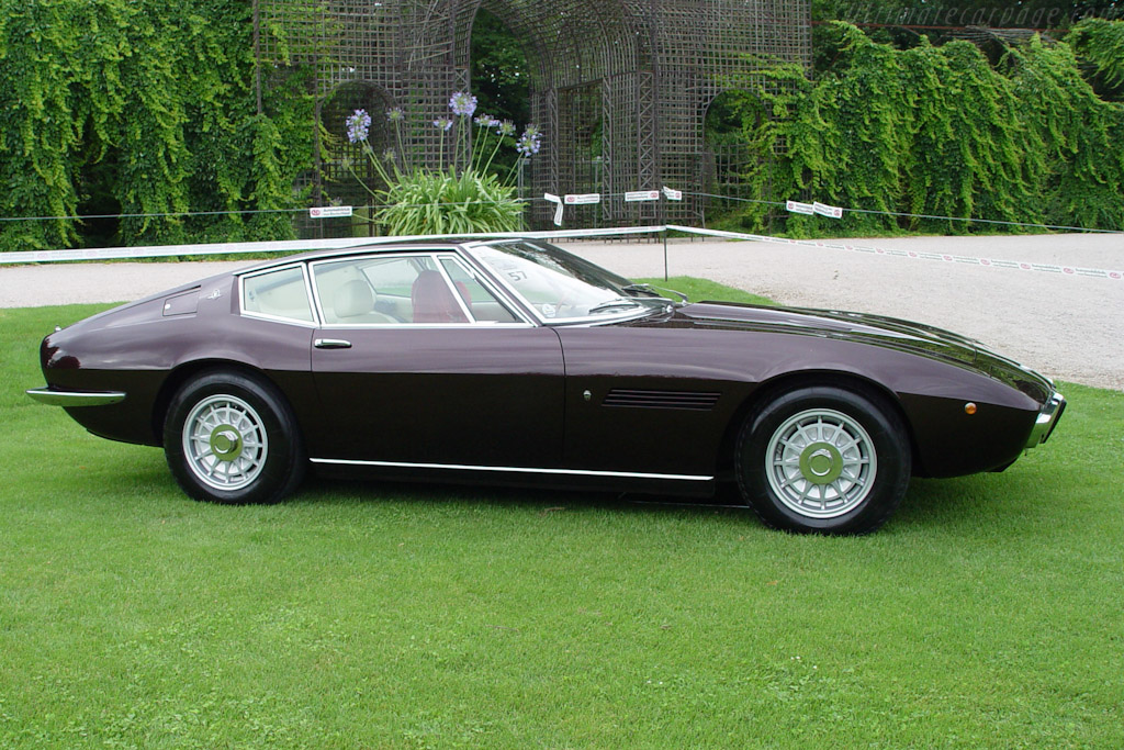Maserati Ghibli SS Coupe - Chassis: AM115/49 1956   - 2003 European Concours d'Elegance
