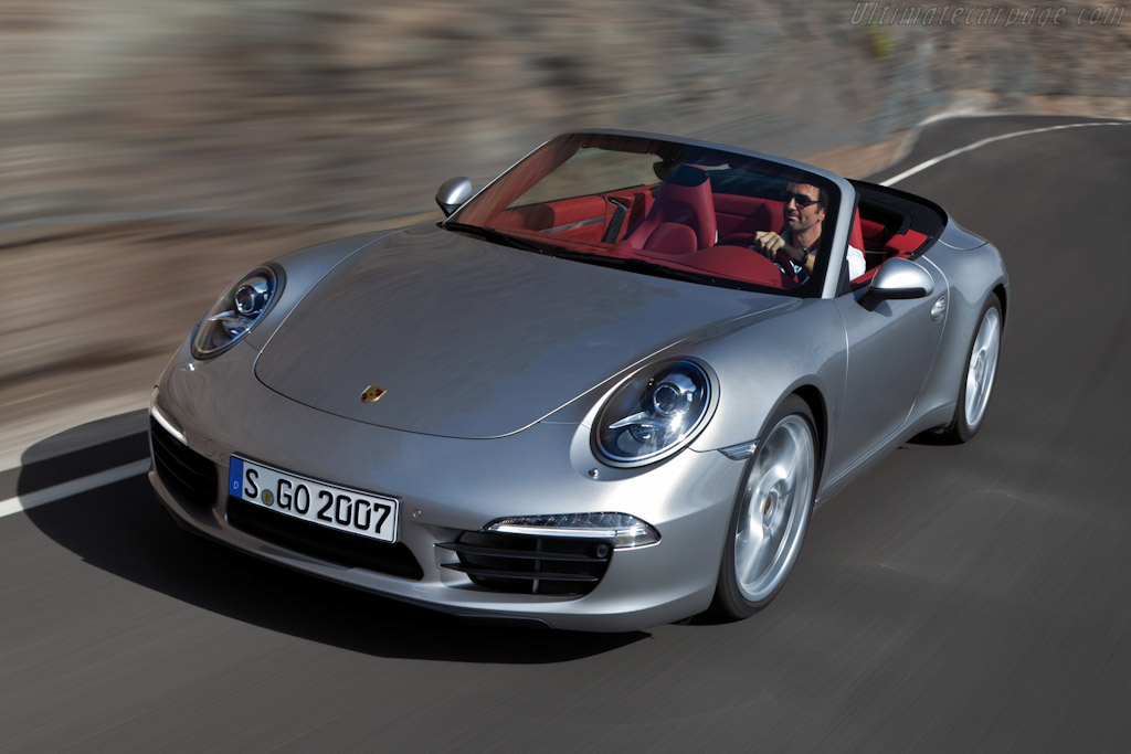 Click here to open the Porsche 911 Carrera Cabriolet gallery