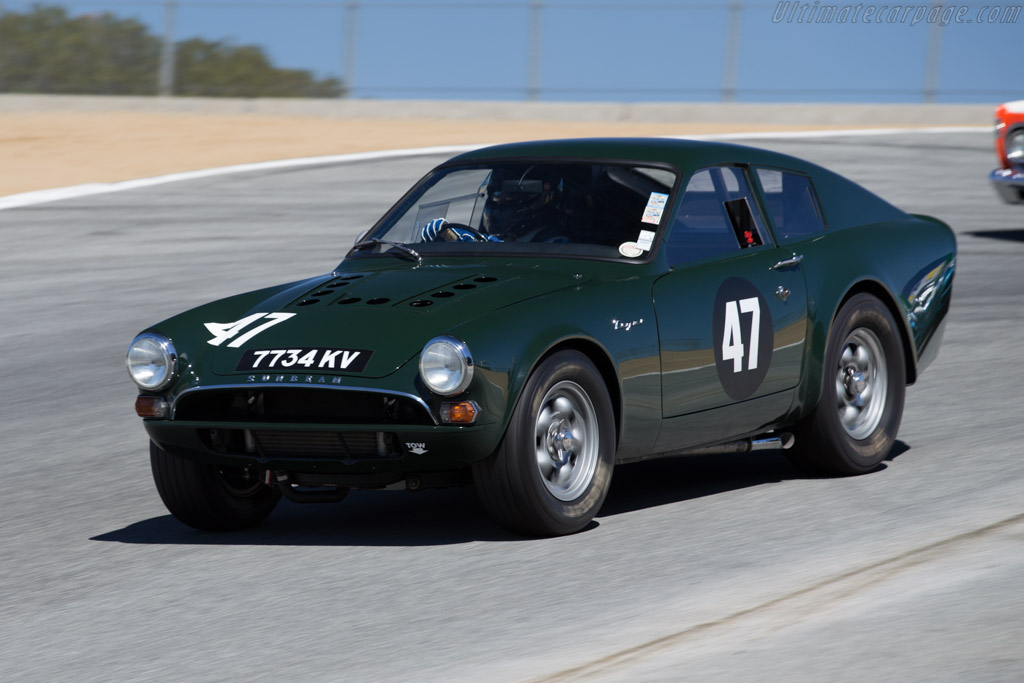 Click here to open the Sunbeam Tiger Lister Le Mans Coupe gallery