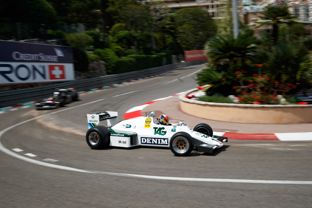 Williams FW08C Cosworth - Chassis: FW08-12  - 2018 Monaco Historic Grand Prix