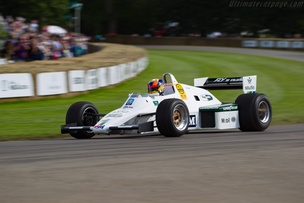 Williams FW08C Cosworth - Chassis: FW08-12  - 2016 Goodwood Festival of Speed