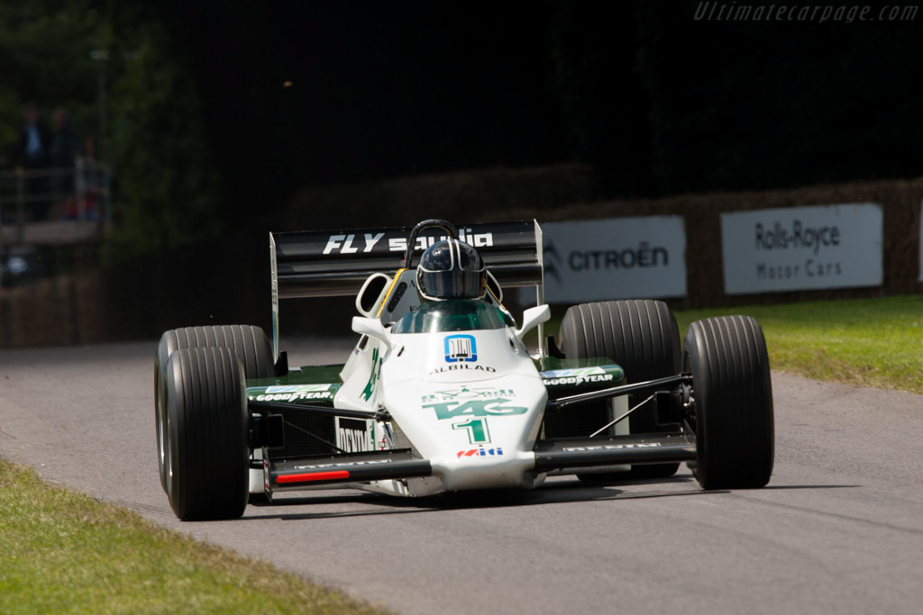 Williams FW08C Cosworth - Chassis: FW08-09   - 2012 Goodwood Festival of Speed