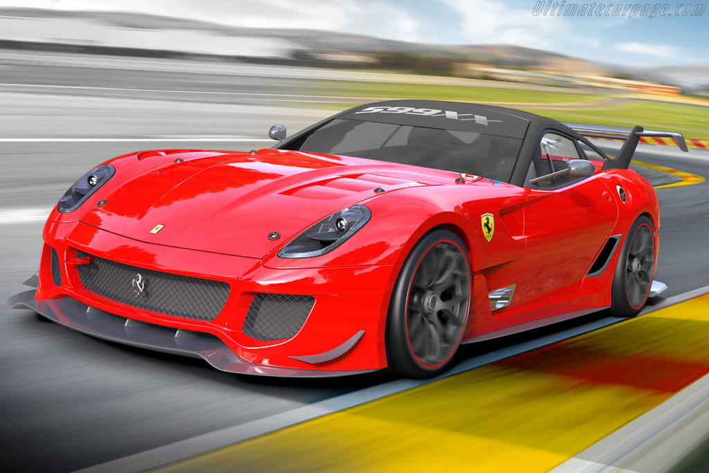 Click here to open the Ferrari 599XX Evoluzione gallery