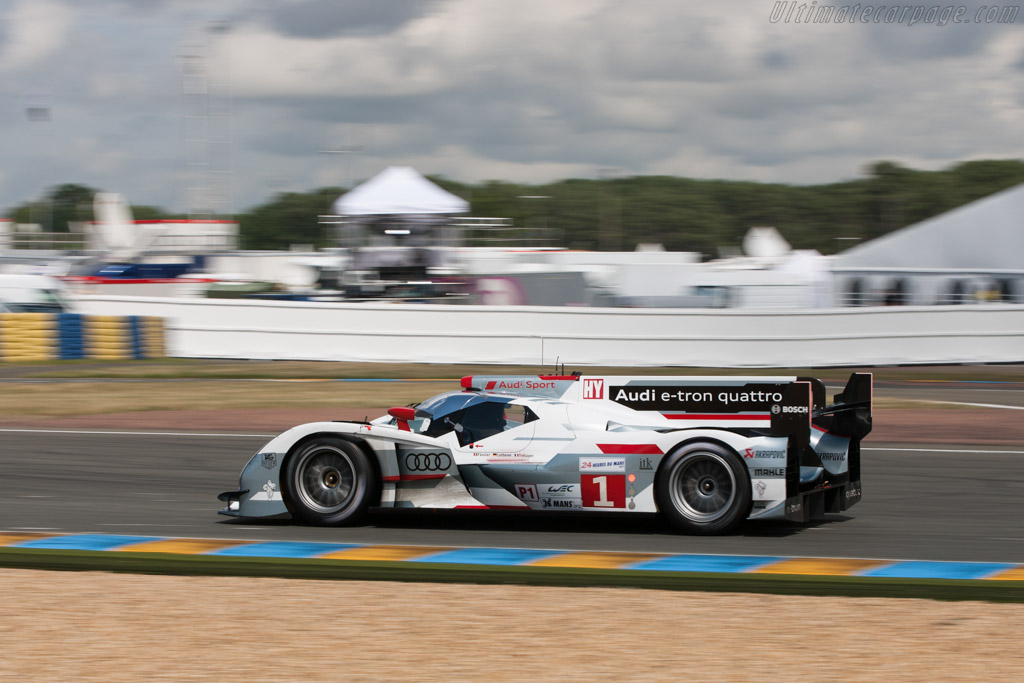 Audi R18 E Tron Quattro Chassis 208 2012 24 Hours Of