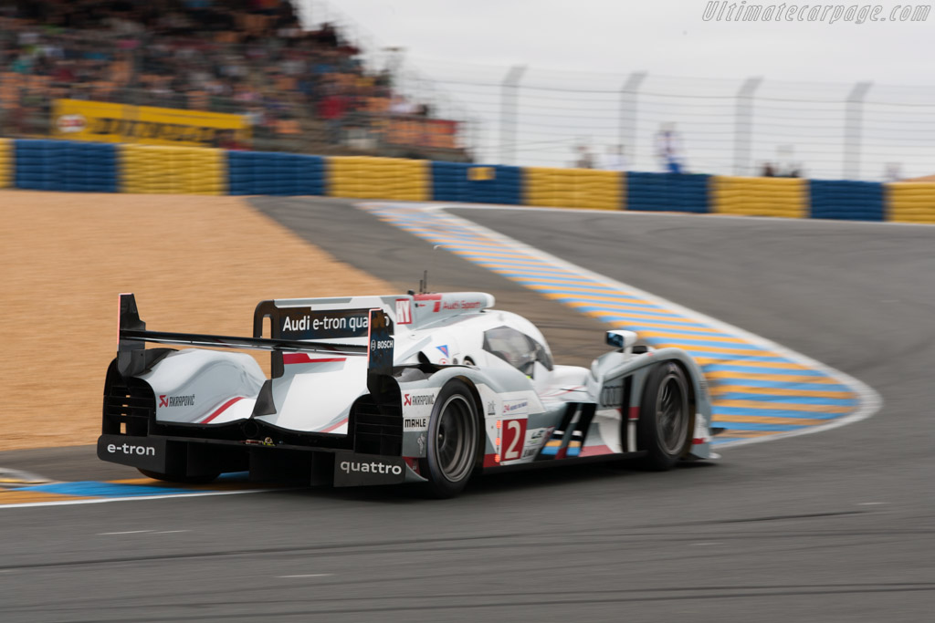Audi R18 E Tron Quattro Chassis 206 2012 Le Mans Test