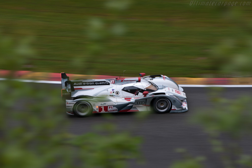 Audi R18 e-tron quattro - Chassis: 208   - 2012 WEC 6 Hours of Spa-Francorchamps