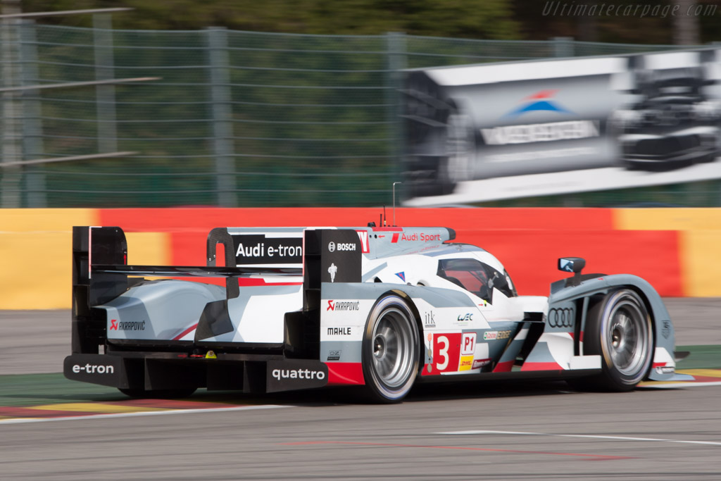 Audi R18 e-tron quattro - Chassis: 304   - 2013 WEC 6 Hours of Spa-Francorchamps
