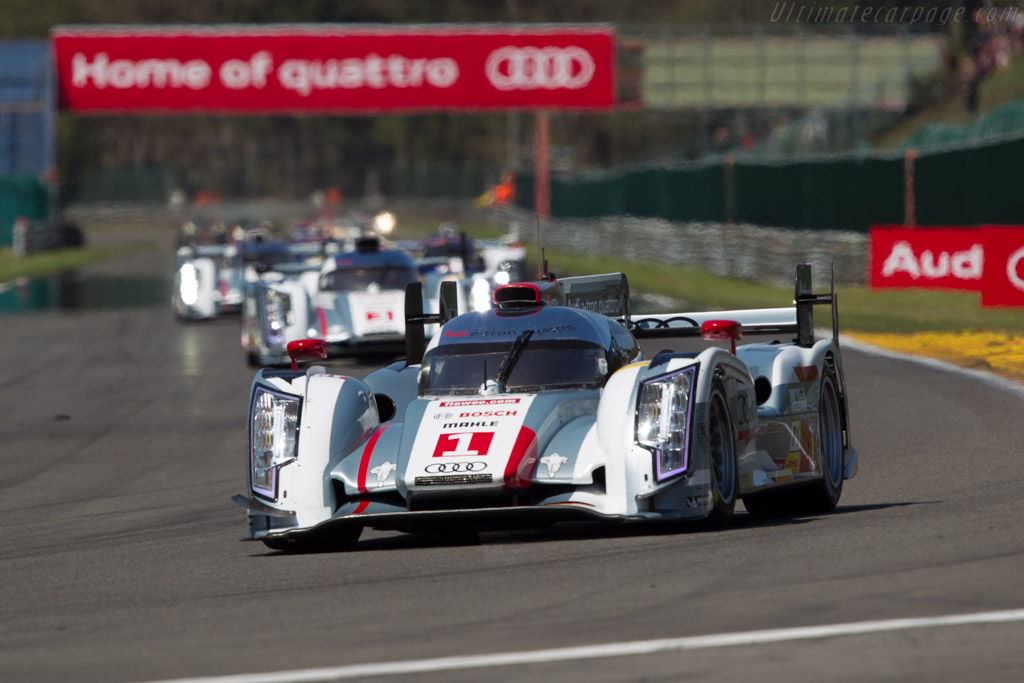 Audi R18 e-tron quattro - Chassis: 303   - 2013 WEC 6 Hours of Spa-Francorchamps