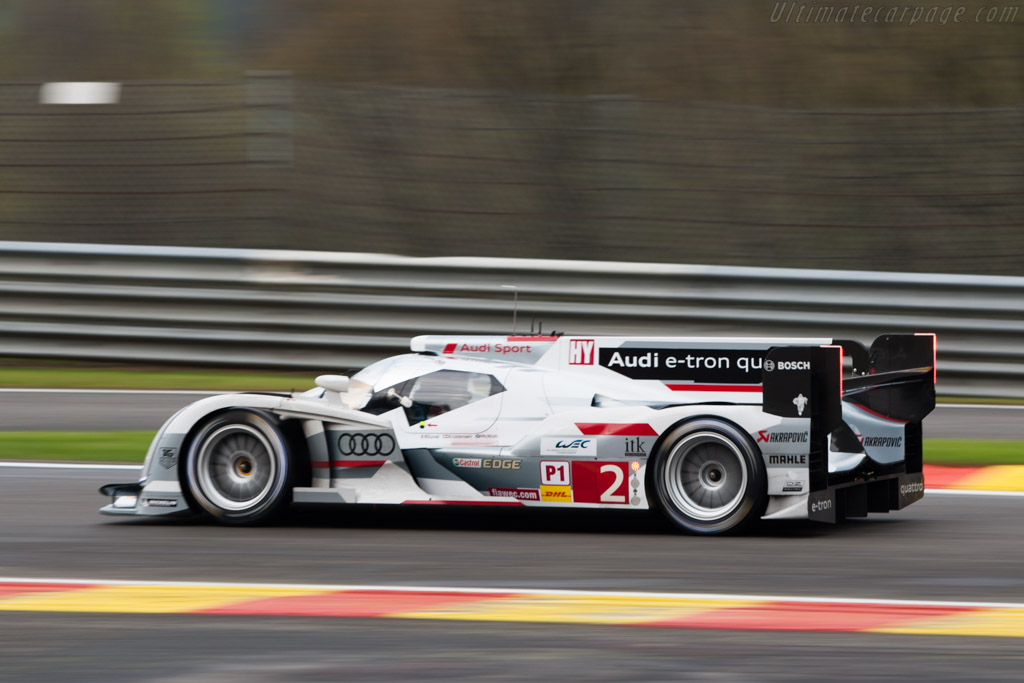 Audi R18 e-tron quattro - Chassis: 302   - 2013 WEC 6 Hours of Spa-Francorchamps