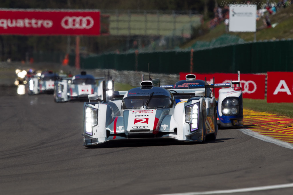 Audi R18 E Tron Quattro Chassis 302 2013 Wec 6 Hours