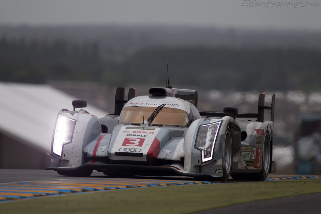 Audi R18 e-tron quattro - Chassis: 304   - 2013 24 Hours of Le Mans