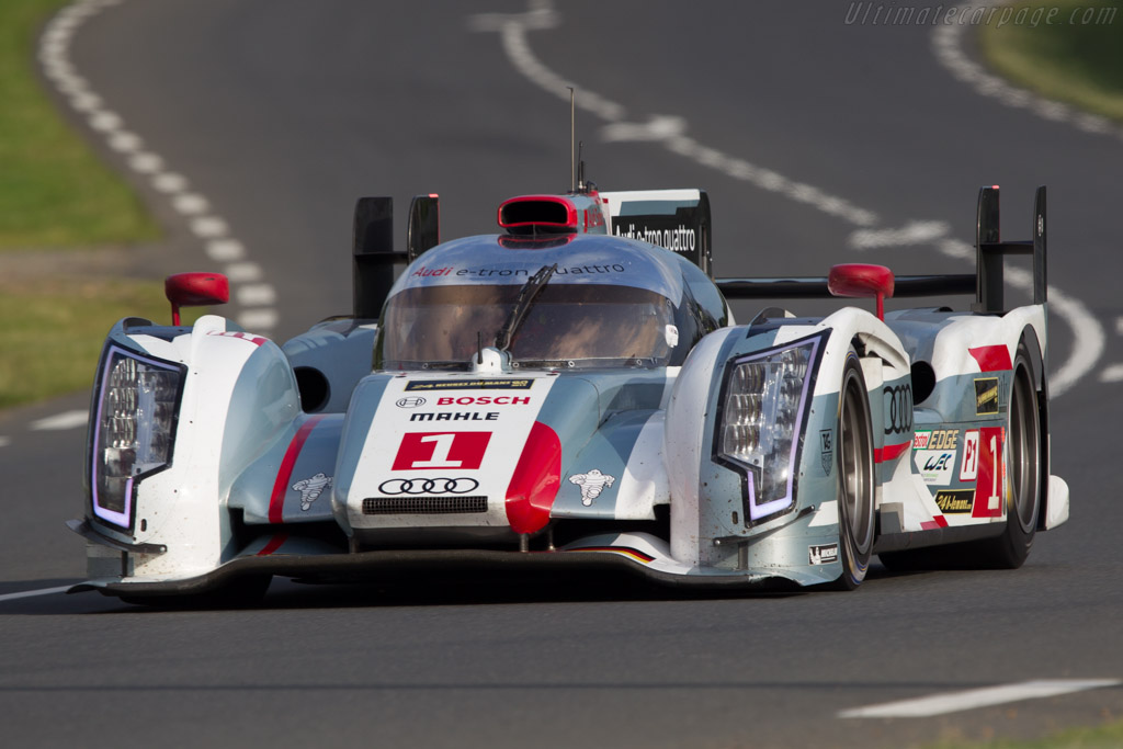 Audi R18 e-tron quattro - Chassis: 303   - 2013 24 Hours of Le Mans