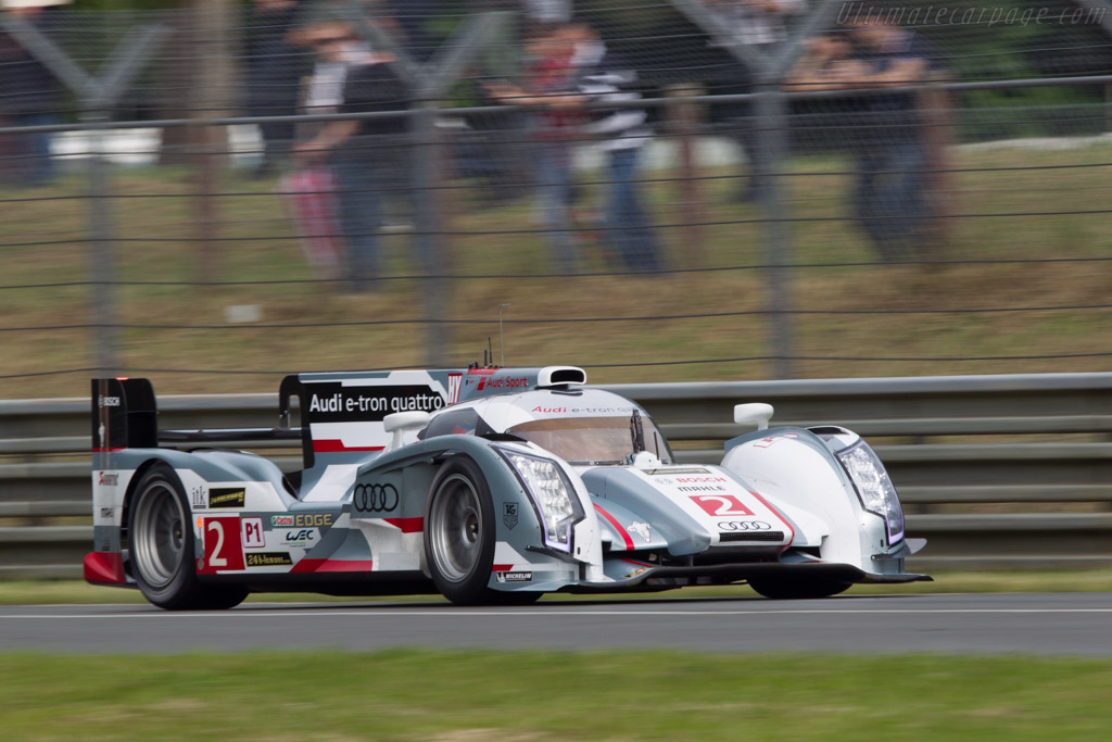 Audi R18 E Tron Quattro Chassis 302 2013 24 Hours Of