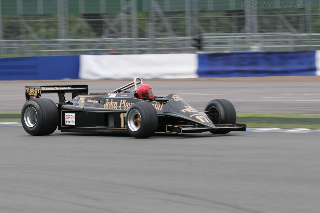 Lotus 87 Cosworth - Chassis: 87/3   - 2005 Silverstone Classic