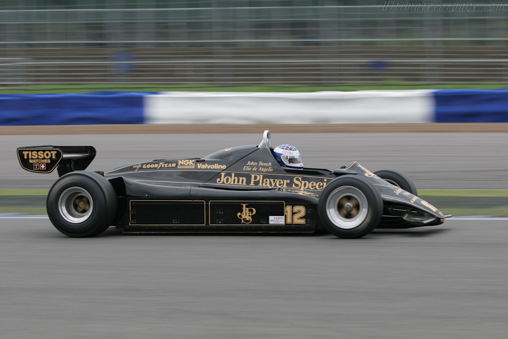 Lotus 91 Cosworth - Chassis: 91/8   - 2005 Silverstone Classic