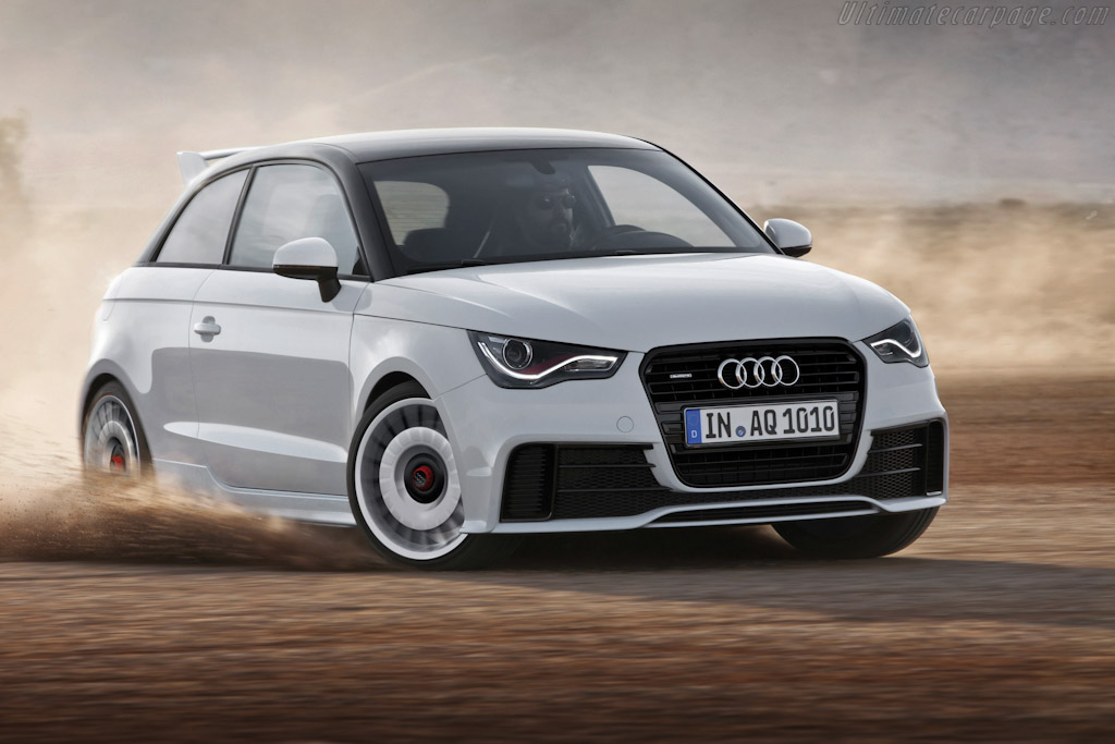 Click here to open the Audi A1 quattro gallery
