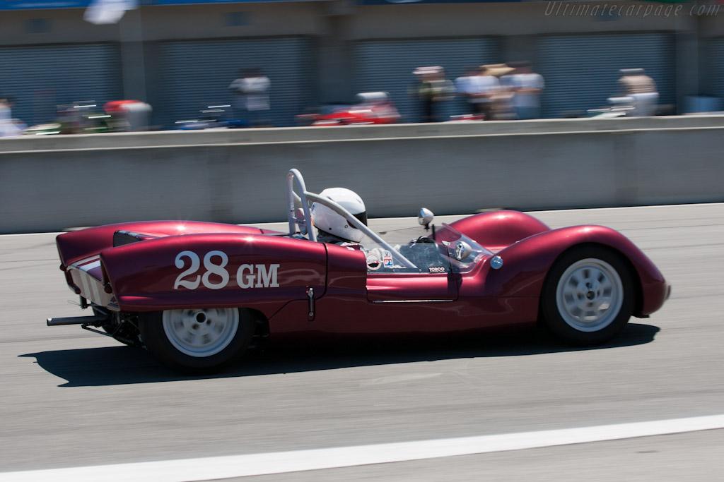 Elva Mk VI Climax - Chassis: 60-28   - 2011 Monterey Motorsports Reunion