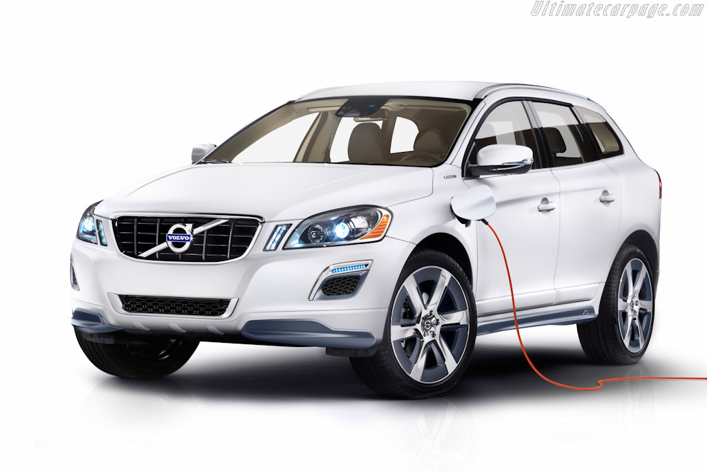 Click here to open the Volvo XC60 Hybrid Concept gallery
