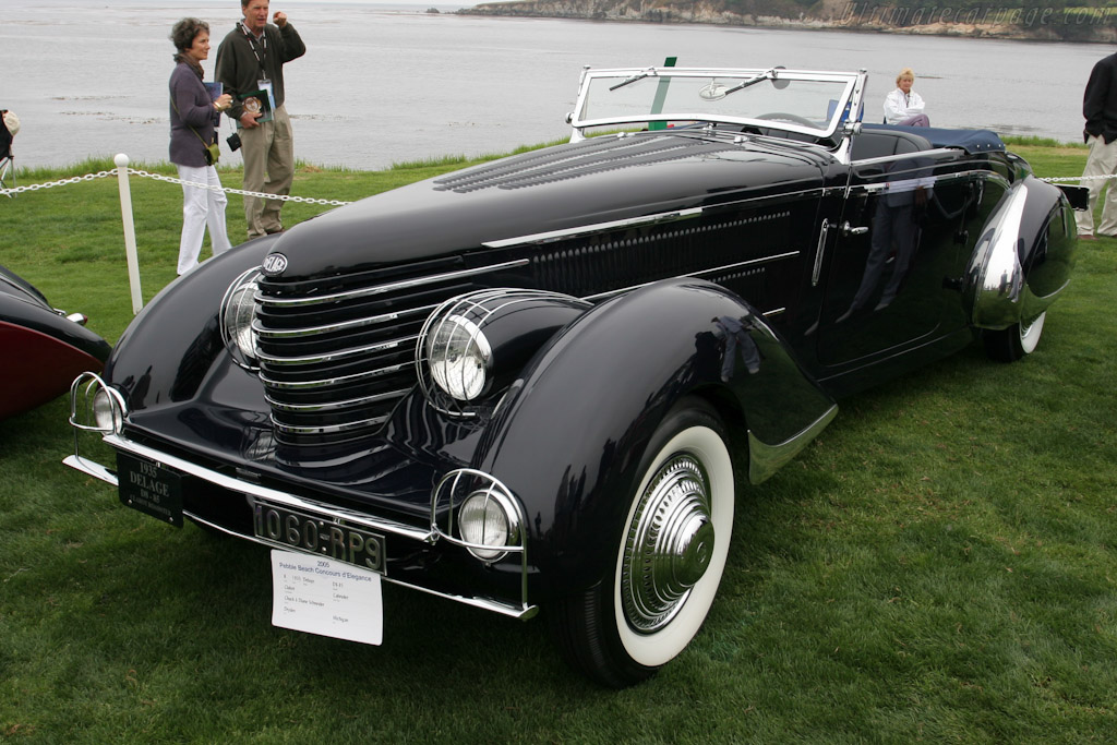 Delage D8-85 Clabot Roadster - Chassis: 40168   - 2006 Pebble Beach Concours d'Elegance