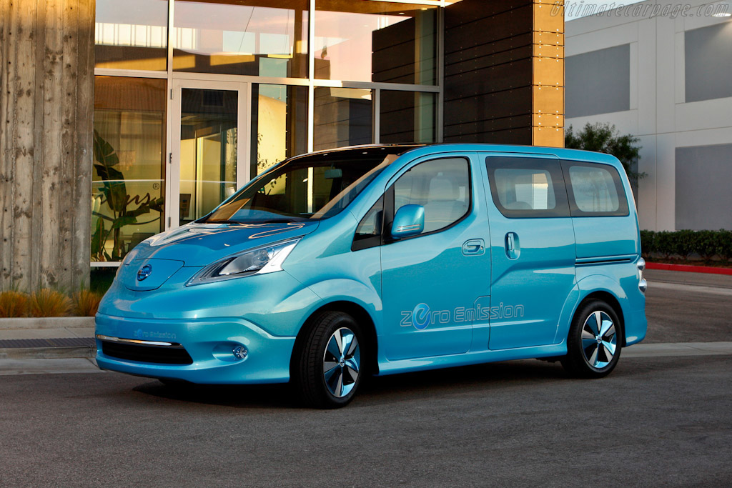 Click here to open the Nissan e-NV200 Concept gallery