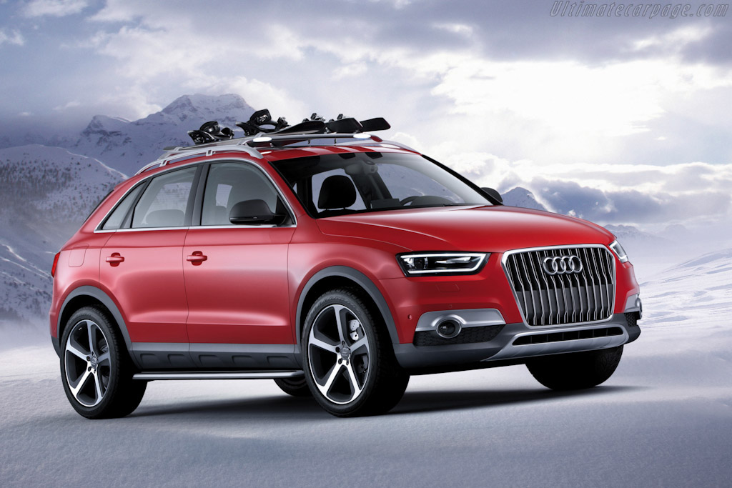 2012 Audi Q3 Vail Concept Images Specifications And Information