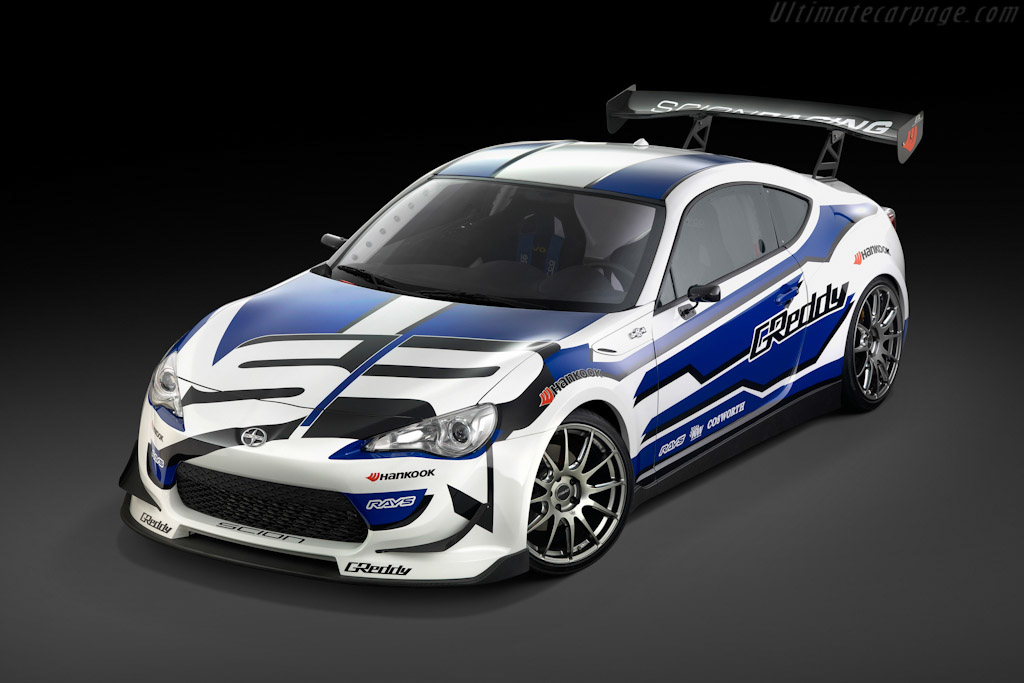 Click here to open the Scion FR-S Race Car gallery