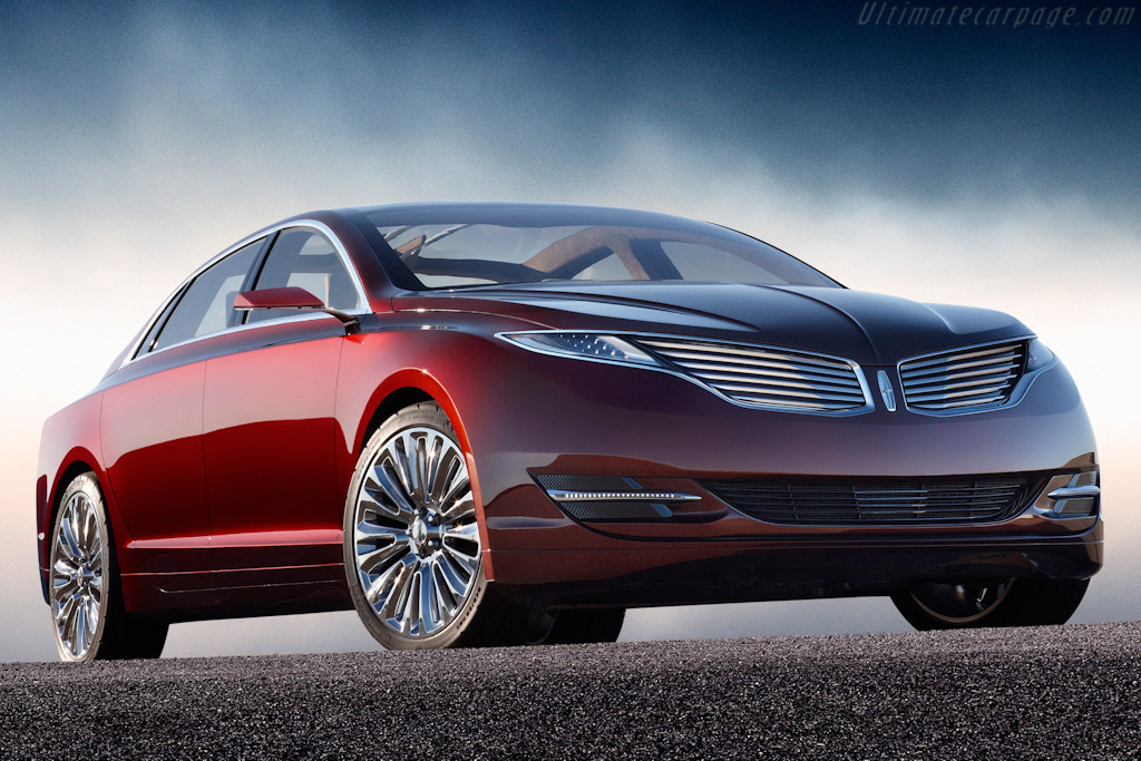 Click here to open the Lincoln MKZ Concept gallery