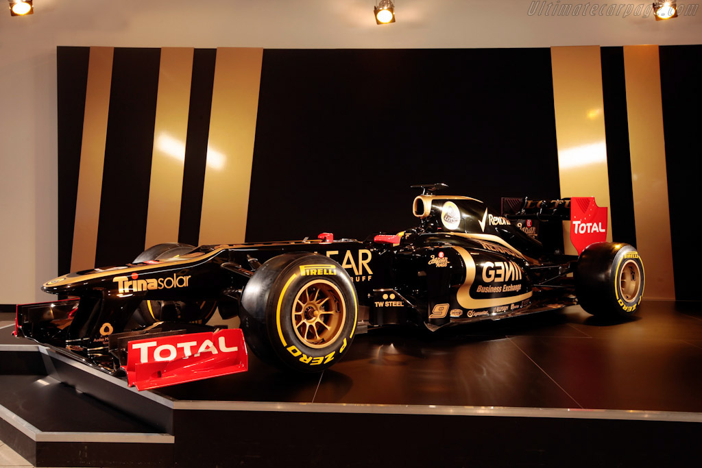 Click here to open the Lotus E20 Renault gallery