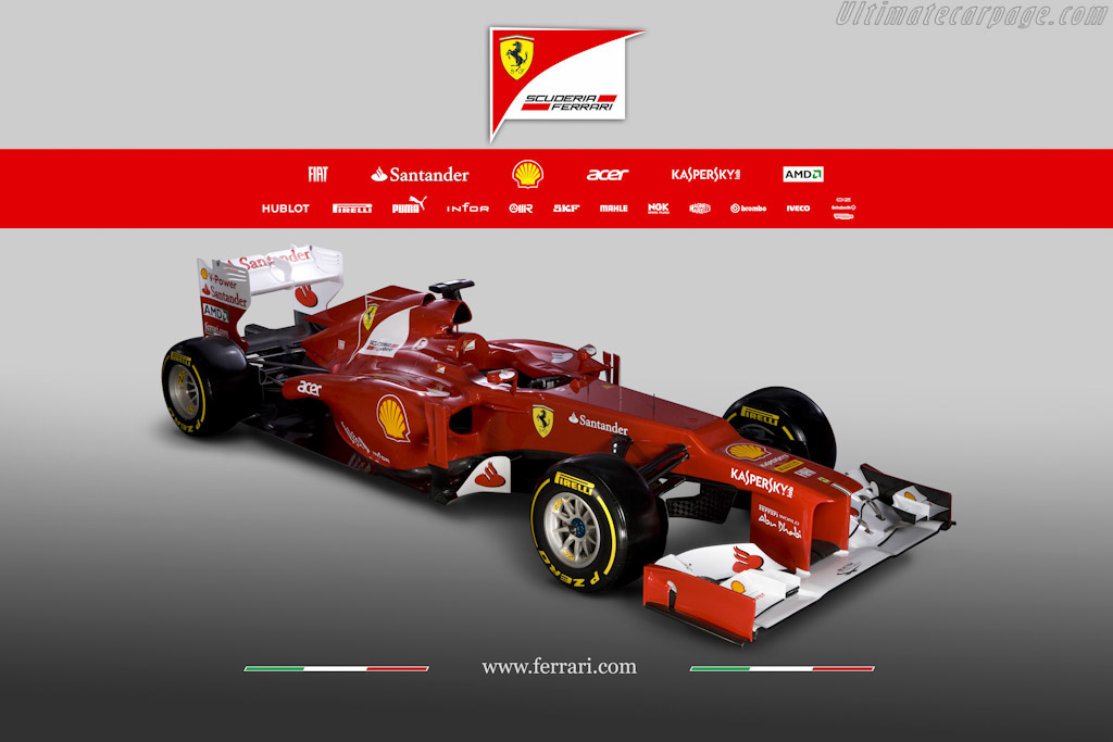 Click here to open the Ferrari F2012 gallery
