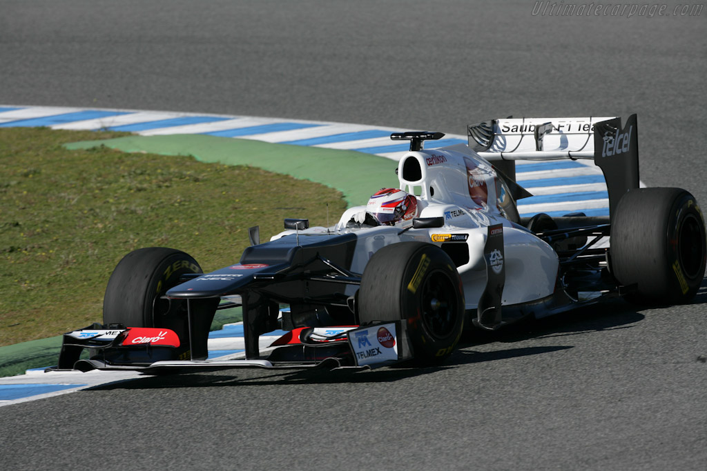 Click here to open the Sauber C31 Ferrari gallery