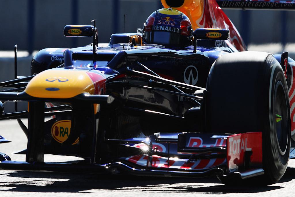 Red Bull Racing RB8 Renault