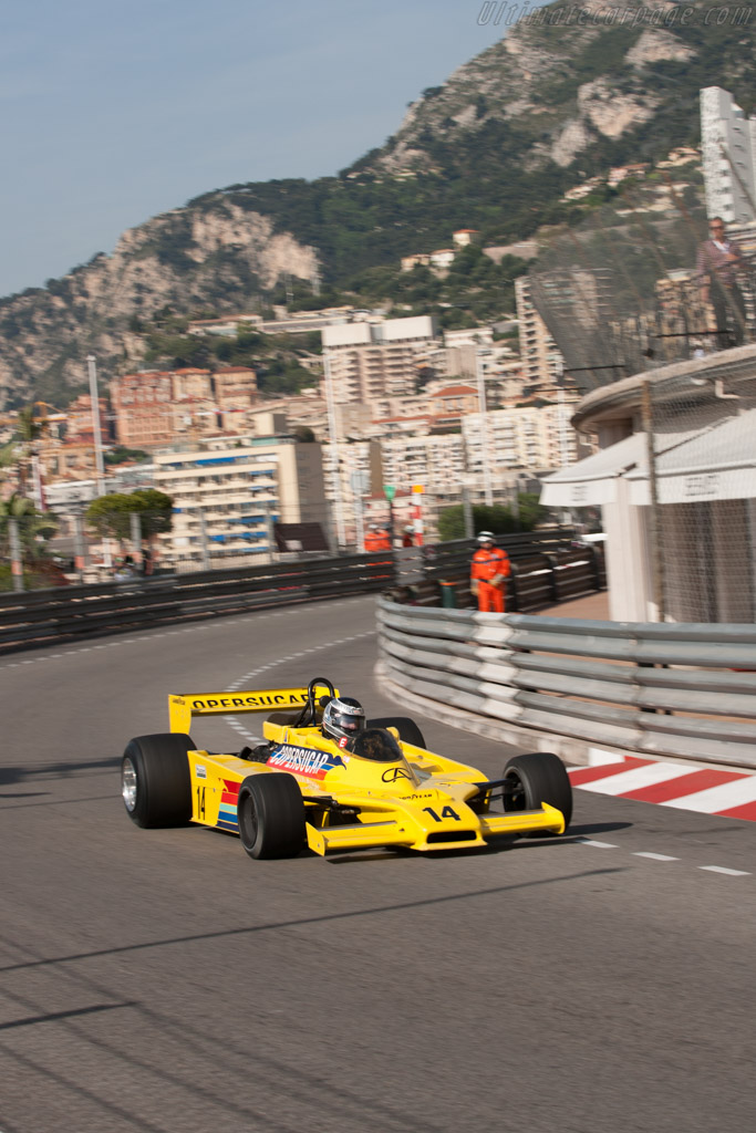 Fittipaldi F5A Cosworth - Chassis: F5A-3   - 2012 Monaco Historic Grand Prix