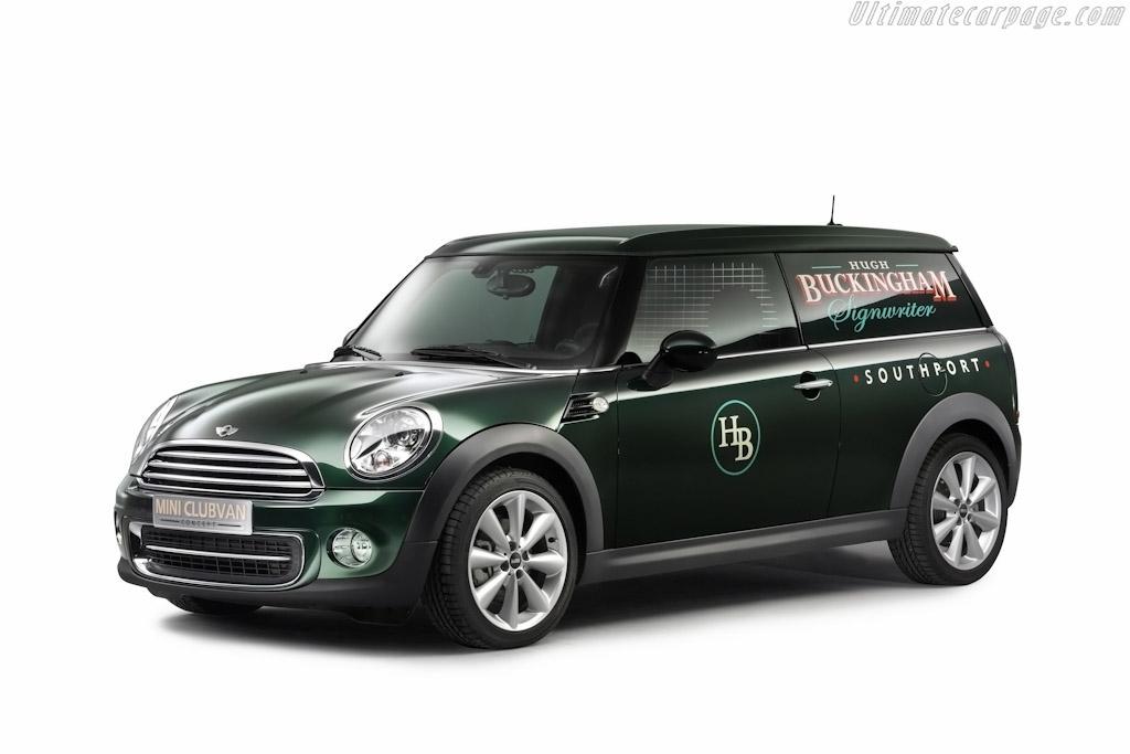Click here to open the MINI Clubvan Concept gallery