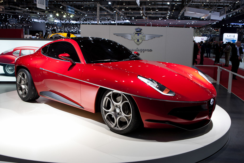 Click here to open the Alfa Romeo Touring Disco Volante 2012 gallery