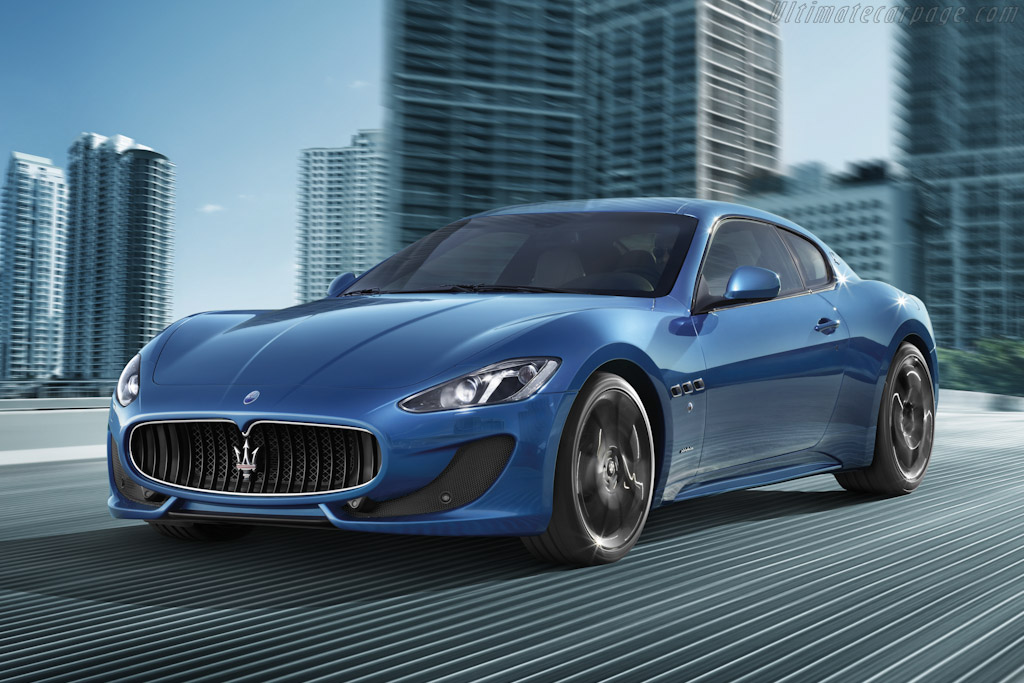 Click here to open the Maserati GranTurismo Sport gallery