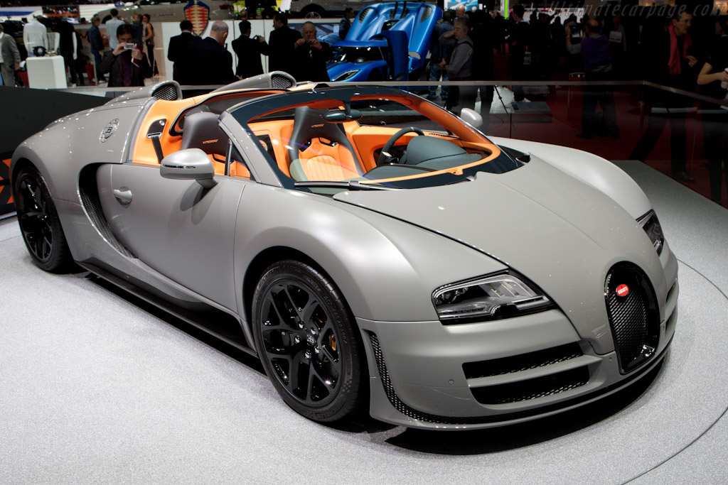 Bugatti Veyron 16.4 Grand Sport Vitesse - Chassis: VF9SV252X2M795015   - 2012 Geneva International Motor Show