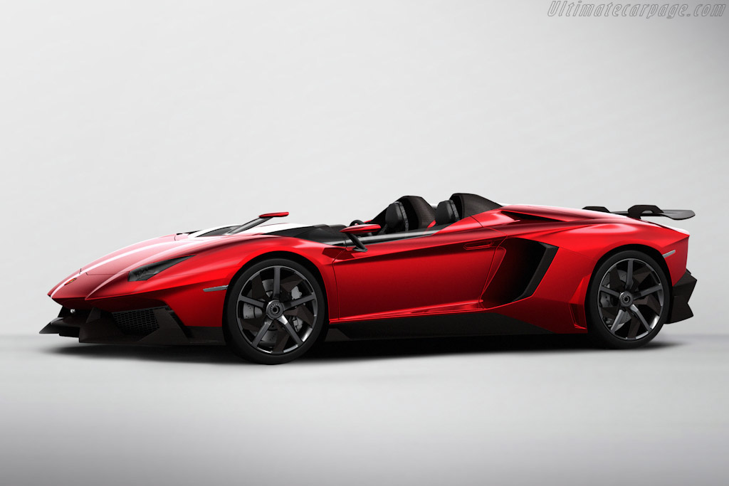 Click here to open the Lamborghini Aventador J gallery