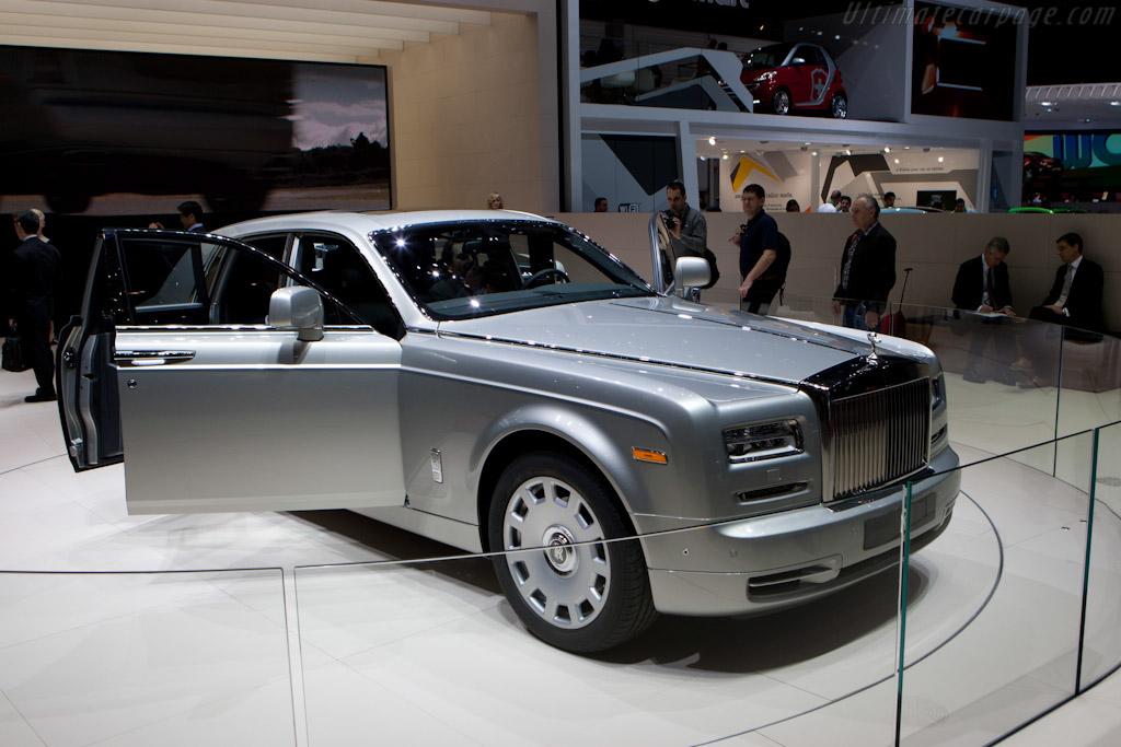 Rolls-Royce Phantom Series II   - 2012 Geneva International Motor Show